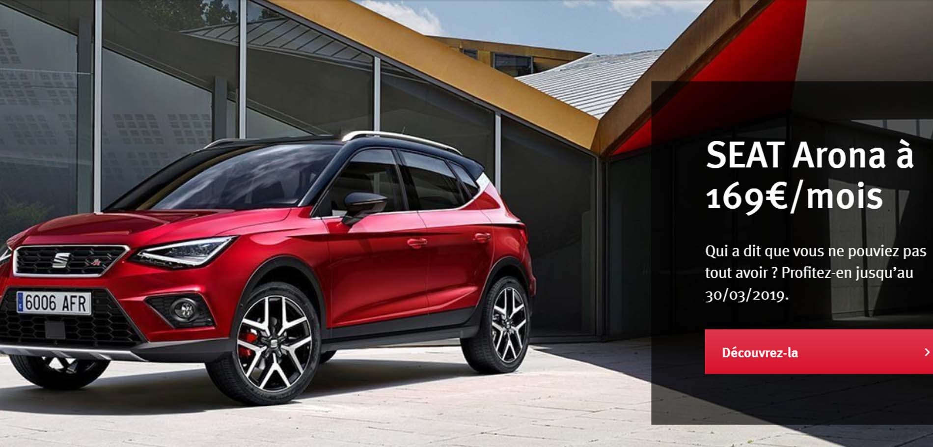 seat arona offre