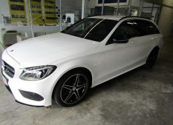 Photo n°1 de l'annonce de MERCEDES-BENZ Classe C Break 220 d Sportline 7G-Tronic Plus occasion de couleur BLANC à vendre à Millau