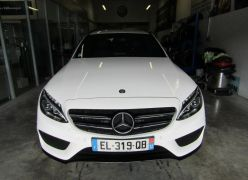 Photo n°3 de l'annonce de MERCEDES-BENZ Classe C Break 220 d Sportline 7G-Tronic Plus occasion de couleur BLANC à vendre à Millau