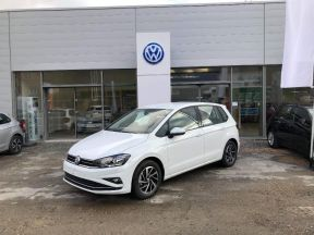 Photo n°1 de l'annonce de VOLKSWAGEN Golf Sportsvan 1.5 TSI EVO 130ch BlueMotion Technology Connect occasion de couleur Blanc à vendre à Figeac