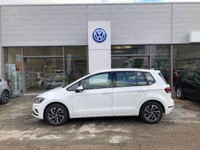 Photo n°2 de l'annonce de VOLKSWAGEN Golf Sportsvan 1.5 TSI EVO 130ch BlueMotion Technology Connect occasion de couleur Blanc à vendre à Figeac