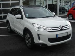 Photo n°1 de l'annonce de CITROEN C4 Aircross 1.8 HDi 4x4 Exclusive occasion de couleur BLANC à vendre à Aurillac