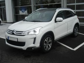 Photo n°3 de l'annonce de CITROEN C4 Aircross 1.8 HDi 4x4 Exclusive occasion de couleur BLANC à vendre à Aurillac