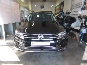 Photo n°3 de l'annonce de VOLKSWAGEN Touareg 3.0 V6 TDI 204ch BlueMotion Technology Carat 4Motion Tiptronic occasion de couleur BLEU MOONLIGHT à vendre à Millau